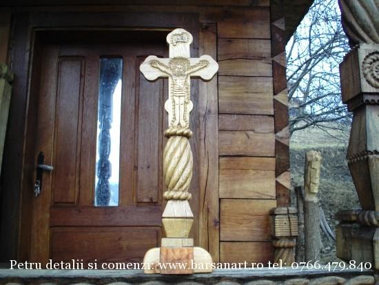 Cruce stejar cu suport