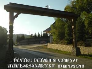 Poarta intrare in Barsana