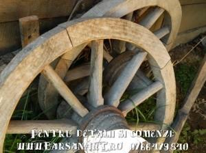 Roata de lemn