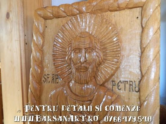 Sf. Ap. Petru Icoana din lemn