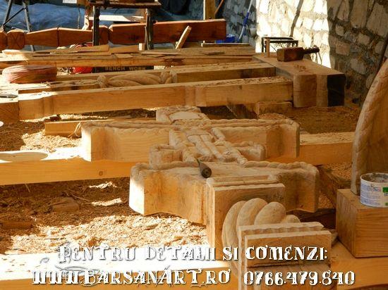 Stadiu de lucru - atelier lemn