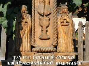 Toita din lemn - detaliu