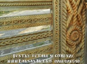 Detaliu poarta din Maramures