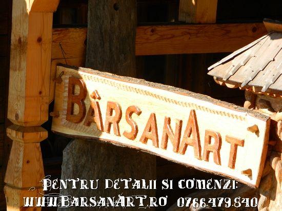 Logo sculptat Barsanart