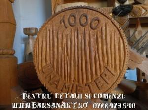 Moneda Vlad Tepes spate