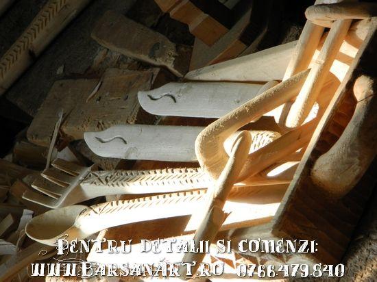 Obiecte artizanale din lemn