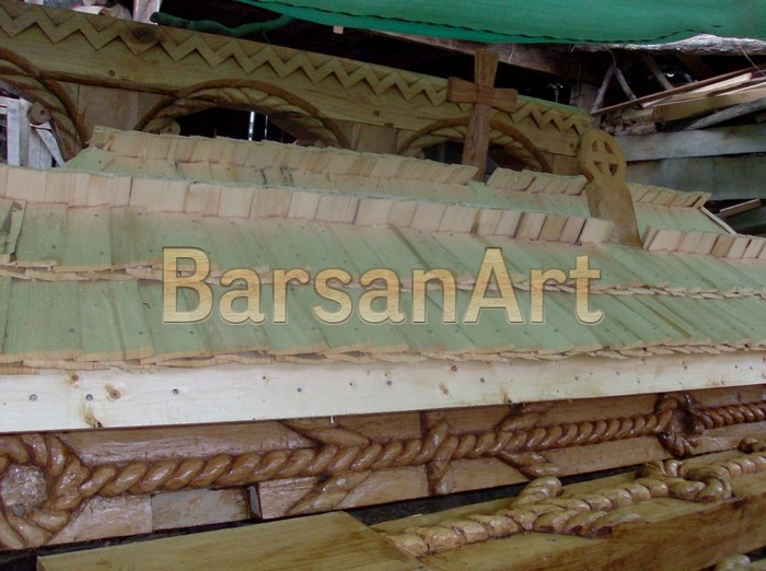 Acoperis Dranita lemn BarsanArt 20