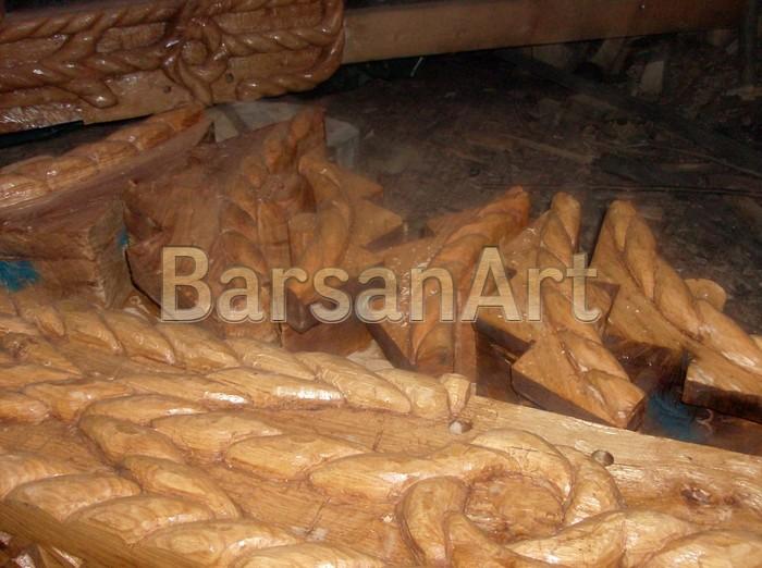 BarsanArt Detalu sculptura poarta maramureseana