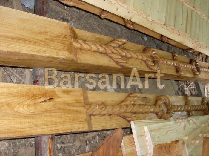 BarsanArt Poarta Maramureseana - Stalpi