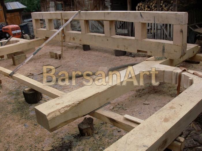 BarsanArt Stadiu de lucru poarta din lemn